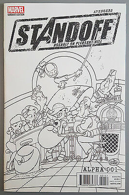 Avengers Standoff Assault On Pleasant Hill Alpha #1 [New] (Party Sketch Variant)