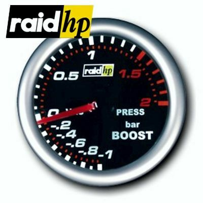 raid hp NIGHT FLIGHT - Turbodruck/Turbo/Ladedruck-Anzeige - Instrument