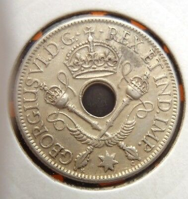 1938 PNG Papua New Guinea Shilling - 7