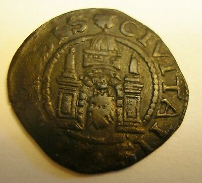 Found Excavated Hammered Coin 1571 Ace 400 Metal Detector Underwater Search