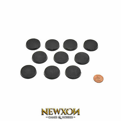 WARHAMMER 40K 32mm Base round tactical marines Sigmar (10 unit)