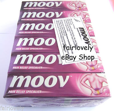 Pack of 12 x 30G Moov Cream With The Power Of Nilgiri Oil Herbal Pain Relief
