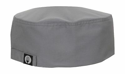 Chef Works Cool Vent Skull Cap Beanie Gray