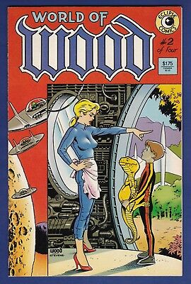 World of Wood #2   Eclipse 1986   Dave Stevens cover Wally Wood