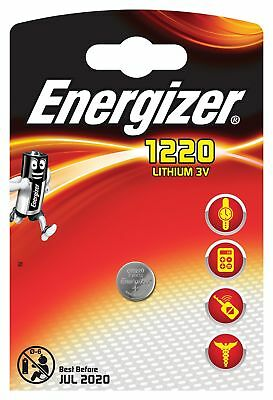 Energizer- Cr1220 3v Lithium Coin Cell Battery X1
