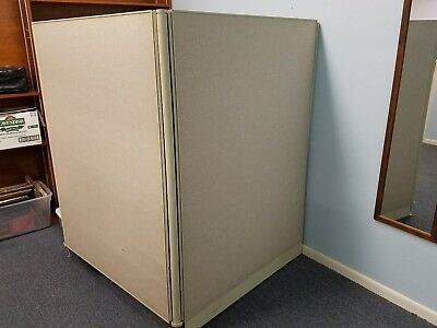 Office Partition / Fabric Panel / Office, Room / Space Divider  Used