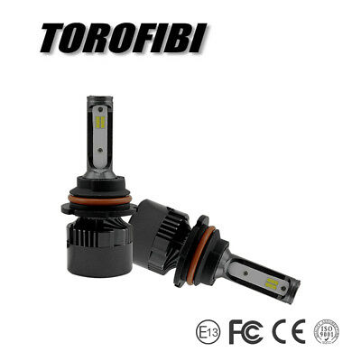 Torofibi 9004 HB1 LED Headlight Bulb Kit High Low Beam Replace Halogen Lamp 6000