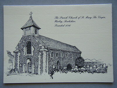 The Parish Church Of St Mary The Virgin Hurley Berkshire Greeting Card