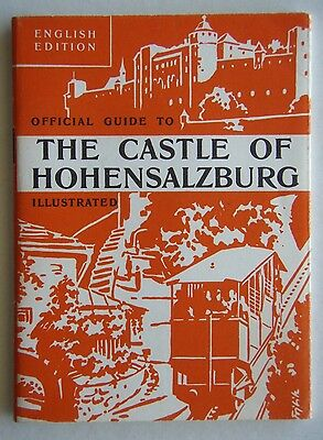 Official Guide To The Castle Of Hohensalzburg 1962