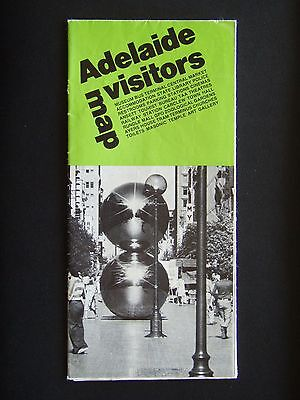 Adelaide Visitors Map