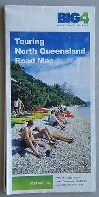 Touring North Queensland Road Map Big4 Holiday Parks 2004 Map