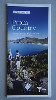 Prom Country Regional Tourism Official Touring Map Wilsons Korumburra Brochure