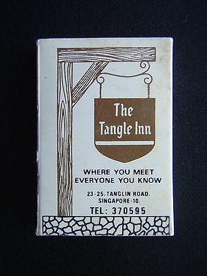 The Tangle Inn 23-25 Tanglin Rd Singapore 370595 Pavilion Restaurant Matchbox