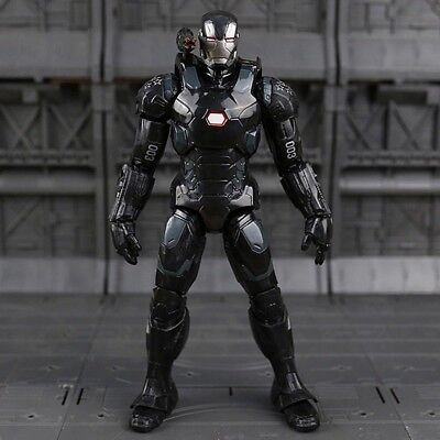 War Machine Iron Man Action Figur Avengers Film Movie DVD Statue Marvel Sammler