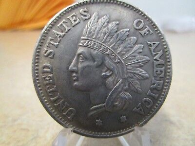 Indian Head  Novelty Coin