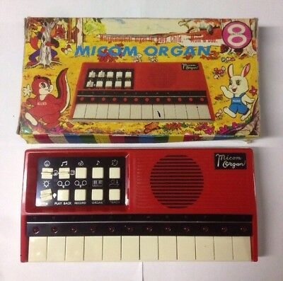 Micom Organ Vintage Keyboards M-108 Allied Devices Corps