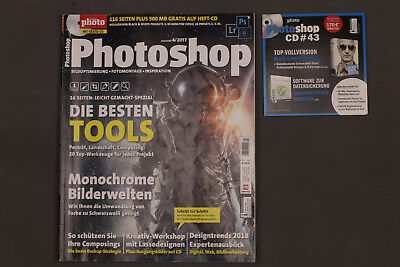 DigitalPHOTO Photoshop Ausgabe 4/2017  incl. CD