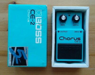 Boss CE2 1989 Chorus guitar effects pedal Vintage