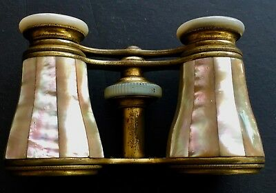 Rainbow Mother of Pearl Opera Glasses