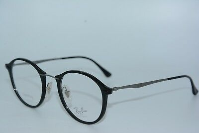 480d003091 New Ray-Ban Rb 7073 2000 Black Authentic Eyeglasses Rx Frames Rb7073 47-21