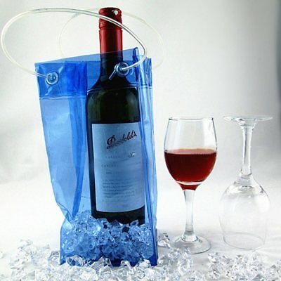 Eco-Friendly Wine Bottle Ice Bag Holder