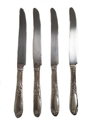 National Silver Co 1951 KIng Edward Silverplate Dinner Knives Replacement Knife