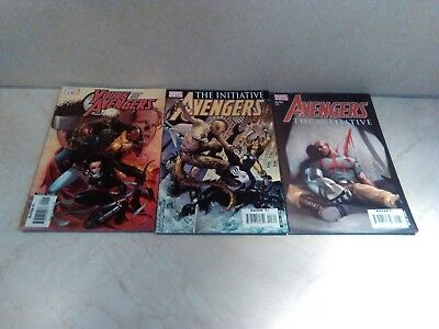 Marvel Young Avengers And The Initiative  Bundle Of 3 Comics Issues 9, 3 And 6