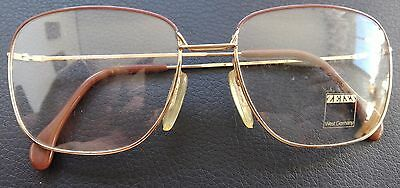 VINTAGE WEST GERMANY ZEISS model 5858 2469  EYEGLASSES FRAME 140 56 18