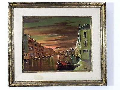 """Antique Vintage Original Oil on Canvas Painting Signed by Artist 28"""" x 24"""""""