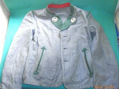 Vintage, boy´s Bavarian traditional costume jacket/Children cloth.