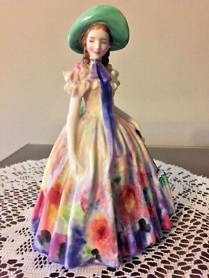"Royal Doulton Figurine ""Easter Day"" Retired - HN 2039 COPR 1945 Rd No"
