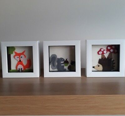 Woodland Animal Pictures, Woodland Nursery Childrens Room, Woodland Accessories