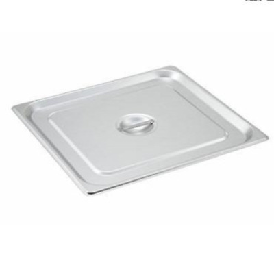 TigerChef TC-20262 Stainless Steel Steam Table Pan Cover with Handle, Non-Stick
