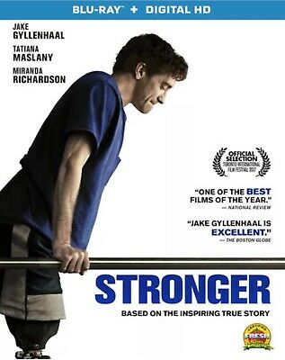 Stronger(Blu-Ray+Digital Hd)W/slipcover New Free Shipping