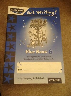 Read Write Inc. Phonics: Get Writing Blue 6 X 1 Book by Charlotte Ray,Ruth Miski