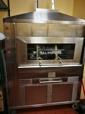 Peruvian Rotisserie Smoker. 30+ Chicken. Electric with charcoal.