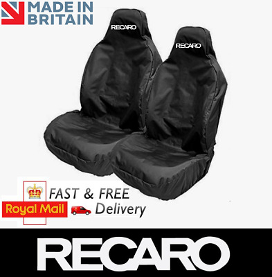 RECARO Car Sports Bucket Seat Covers Protectors x2 / Fits FORD FOCUS ST