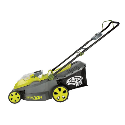 Sun Joe iON16LM-CT (Core Tool) 40-volt 16-Inch Cordless Lawn Mower with Brushles