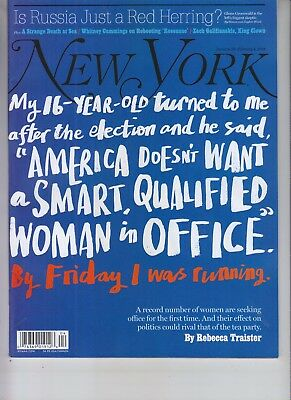 Women In Politics New York Magazine January 22 2018 No Label
