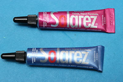 UV resin, Fly tying, SOLAREZ, BEST ON THE MARKET!! - the Pro's choice!!