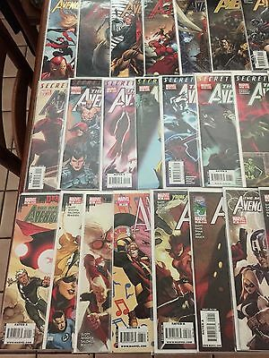MIGHTY AVENGERS #1-36 Complete Set (2007-2010) Marvel Comics
