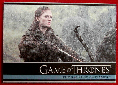 GAME OF THRONES - THE RAINS OF CASTAMERE - Season 3, Card #25 - Rittenhouse 2014