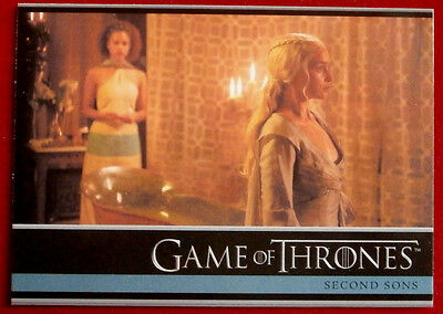 GAME OF THRONES - SECOND SONS - Season 3, Card #22 - Rittenhouse 2014