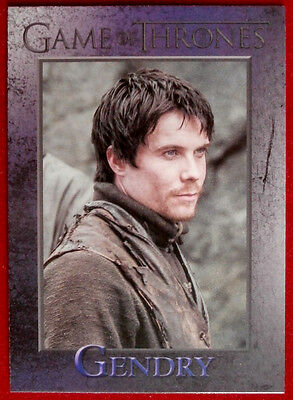 GAME OF THRONES - GENDRY - Season 3, Card #37 - Rittenhouse 2014