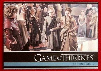 GAME OF THRONES - SECOND SONS - Season 3, Card #23 - Rittenhouse 2014