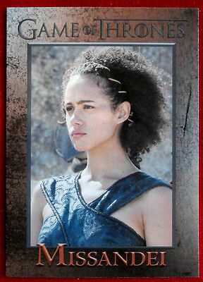 GAME OF THRONES - Season 6 - Card #43 - MISSANDEI - Rittenhouse 2017