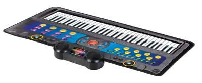Flexible Keyboard Mat Oversize Kids Electronic Piano With Drum Sounds And Lesson