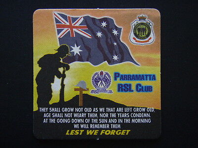 Parramatta Rsl Club Lest We Forget The Ode Coaster