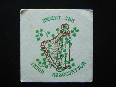Mount Isa Irish Association Coaster