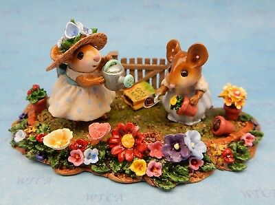 MOM'S GARDEN by Wee Forest Folk, WFF# M-301z, Folktoberfest Event Piece 2014